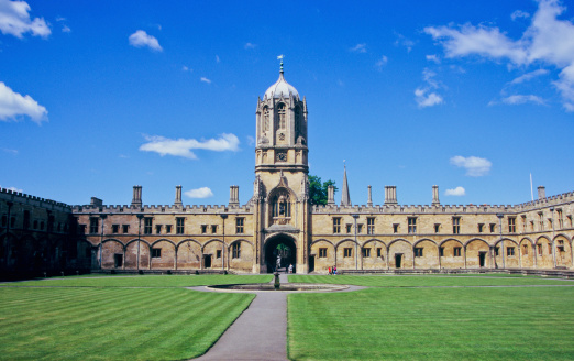 Gothic Style「Christ Church's Tom Tower, Oxford University, England」:スマホ壁紙(8)