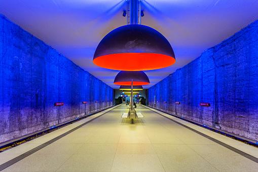 Munich「Westfriedhof Metro Station」:スマホ壁紙(1)