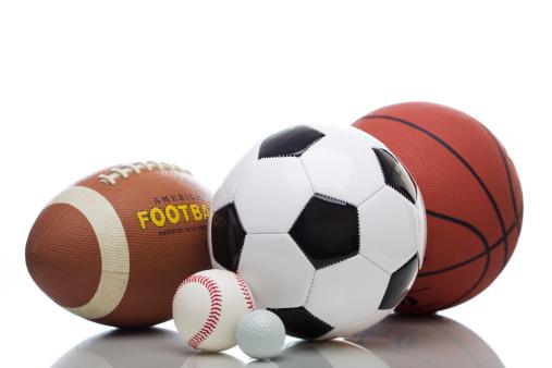 スポーツ用品「Various Sports Balls」:スマホ壁紙(14)