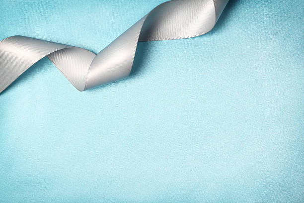 Ribbon on Silk Texture Background:スマホ壁紙(壁紙.com)