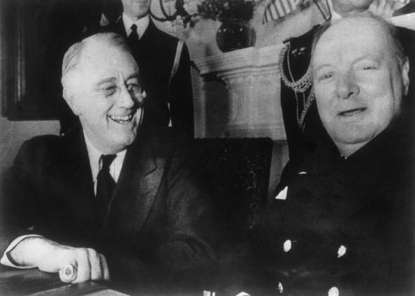 Franklin Roosevelt「Churchill At White House」:写真・画像(2)[壁紙.com]