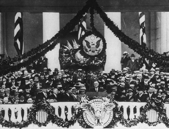 Franklin Roosevelt「FDR Giving Inaugural Address」:写真・画像(2)[壁紙.com]