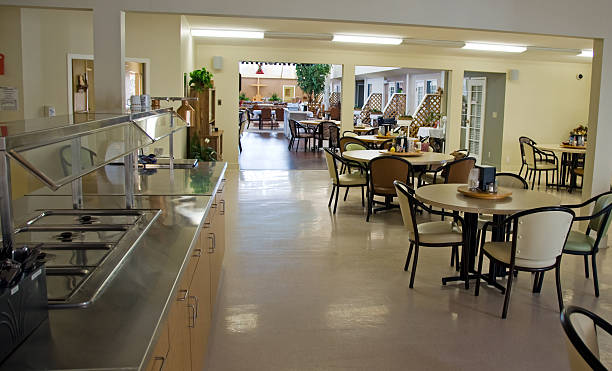 Senior's Home Dining area:スマホ壁紙(壁紙.com)