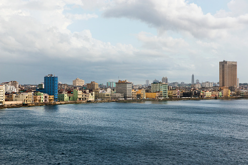 Old Havana「View of Old Havana from the Straits of Florida.」:スマホ壁紙(12)