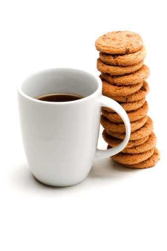 Coffee - Drink「Coffee and cookies」:スマホ壁紙(14)