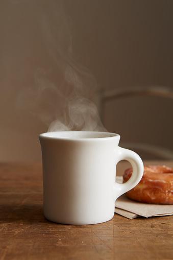 蒸気「Coffee and Donut」:スマホ壁紙(4)