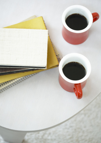 Two Objects「Coffee and notebook」:スマホ壁紙(8)