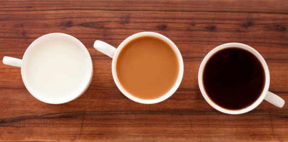 Black Coffee「Coffee and milk cups」:スマホ壁紙(19)