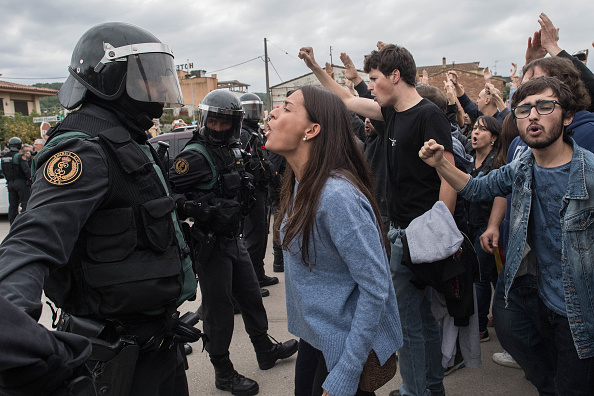 Catalonia「Independence Referendum Takes Place In Catalonia」:写真・画像(10)[壁紙.com]