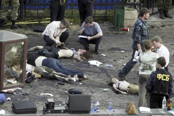 Exploding「Suicide Bomb Attacks At Moscow Rock Concert Kill 16 」:写真・画像(19)[壁紙.com]