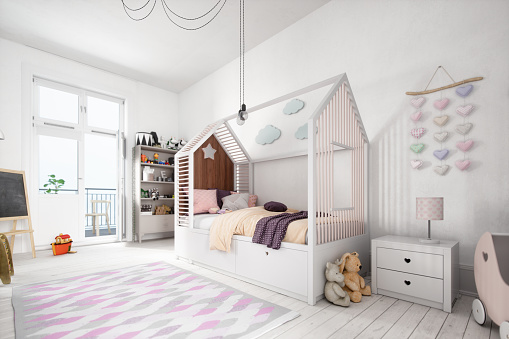 Pink「Scandinavian Style Kids Room」:スマホ壁紙(13)