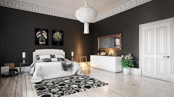 Desk Lamp「Scandinavian Bedroom」:スマホ壁紙(8)