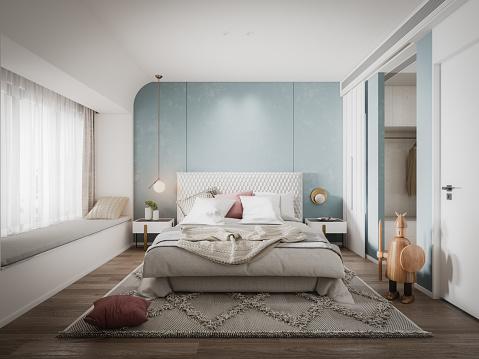 Bed - Furniture「Scandinavian Bedroom」:スマホ壁紙(12)