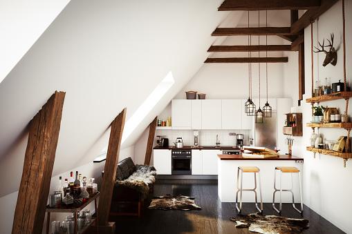 Villa「Scandinavian Home Interior」:スマホ壁紙(14)