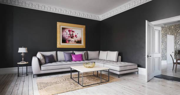 Scandinavian Living Room (19:10):スマホ壁紙(壁紙.com)
