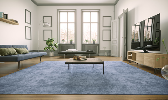 Scandinavia「Scandinavian Style Living Room Interior」:スマホ壁紙(14)