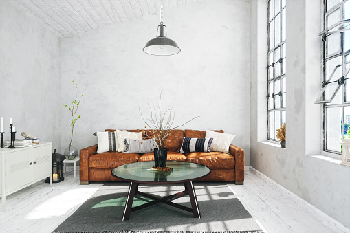 Hotel「Scandinavian Style Living Room」:スマホ壁紙(19)