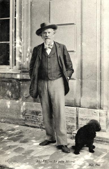 Arles「Frédéric Mistral in Arles, with dog, c.1908.」:写真・画像(11)[壁紙.com]