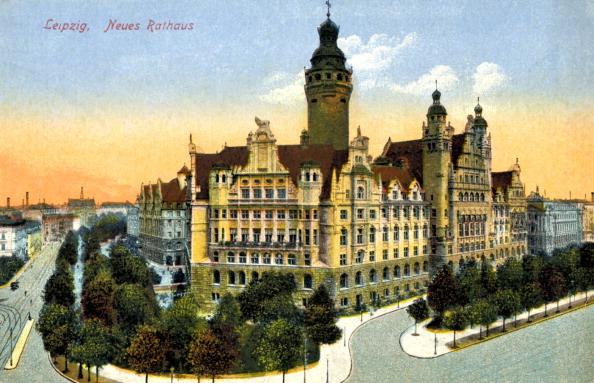 Leipzig - Saxony「Leipzig new town hall (neues rathaus)」:写真・画像(16)[壁紙.com]
