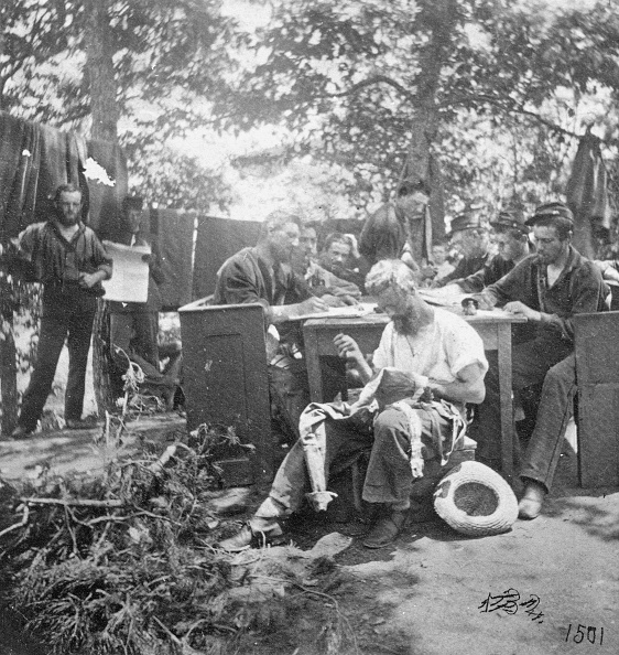 American Civil War「Union Soldiers Fill Downtime During Civil War」:写真・画像(6)[壁紙.com]