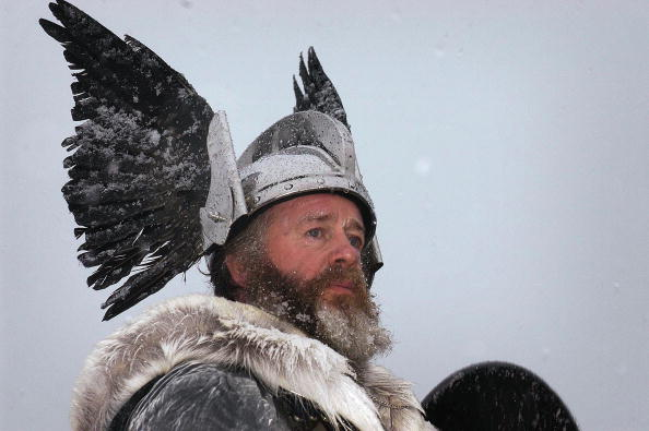 Horned「Shetlanders Celebrate Annual Viking Festival Of Fire  」:写真・画像(11)[壁紙.com]