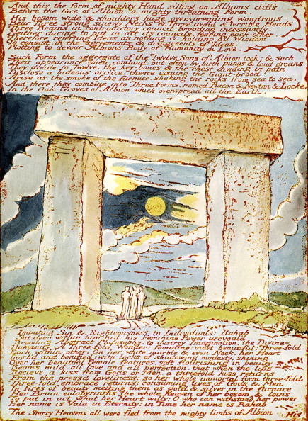 Symbol「The Druid Gateway by William Blake」:写真・画像(18)[壁紙.com]