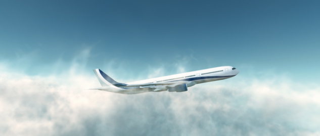 Aircraft「Airbus A330-300 Plane Take Off above the clouds」:スマホ壁紙(15)