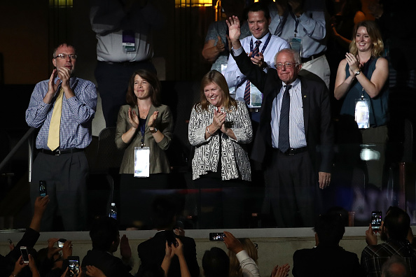 US Democratic Party 2016 Presidential Candidate「Democratic National Convention: Day Two」:写真・画像(18)[壁紙.com]