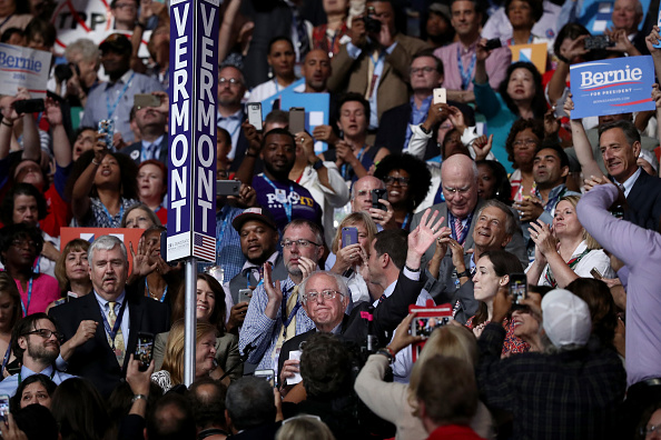 US Democratic Party 2016 Presidential Candidate「Democratic National Convention: Day Two」:写真・画像(13)[壁紙.com]