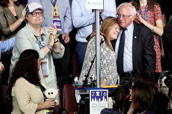 US Democratic Party 2016 Presidential Candidate「Democratic National Convention: Day Two」:写真・画像(9)[壁紙.com]