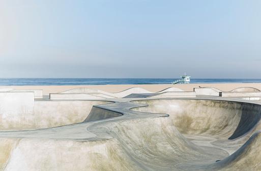 City Of Los Angeles「Venice Beach Skatepark」:スマホ壁紙(9)