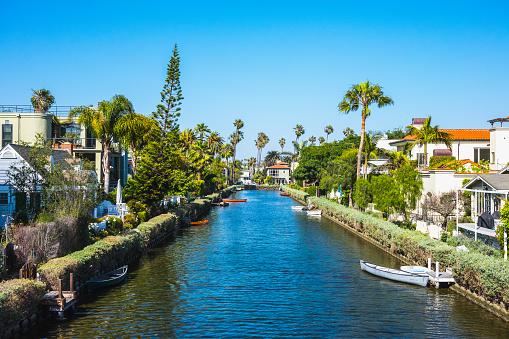 Canal「Venice Beach Canals, California, USA」:スマホ壁紙(14)