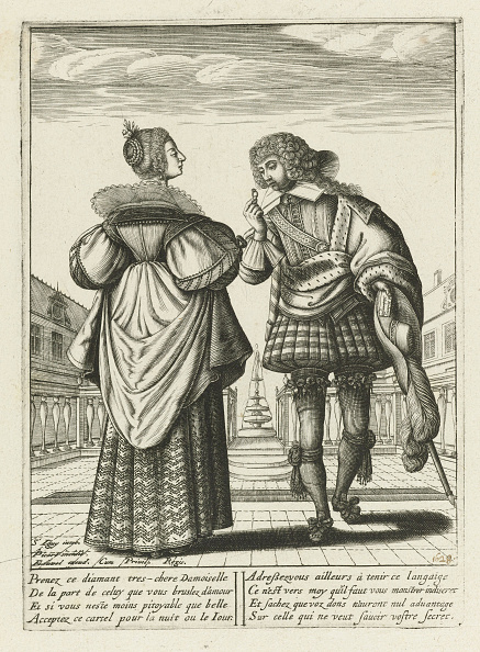North Holland「A Fashionably Dressed Couple With A Diamond Ring」:写真・画像(19)[壁紙.com]