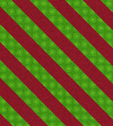 Tartan check「レッドとグリーンの柄のグリッター」:スマホ壁紙(1)