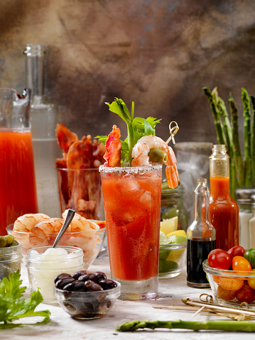 Celery「Build Your Own Bloody Mary Bar with, Bacon, Shrimp,Celery, Asparagus.」:スマホ壁紙(11)
