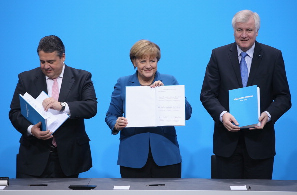 Sean Gallup「SPD And CDU/CSU Seal New Coalition Government」:写真・画像(5)[壁紙.com]