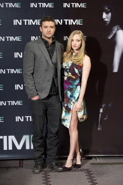 Amanda Seyfried「Justin Timberlake and Amanda Seyfried Attend 'In Time' Photocall」:写真・画像(9)[壁紙.com]