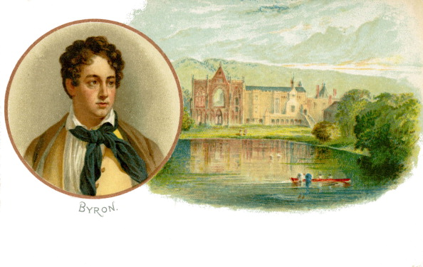 Poet「Lord Byron - portrait with his ancestral home」:写真・画像(8)[壁紙.com]