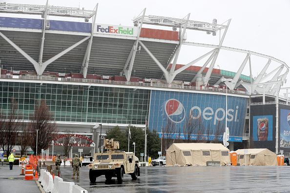 FedExField「Coronavirus Pandemic Causes Climate Of Anxiety And Changing Routines In America」:写真・画像(17)[壁紙.com]