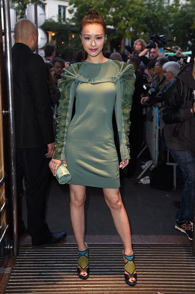 Womenswear「Jean Paul Gaultier : Front Row - Paris Fashion Week Womenswear Spring/Summer 2015」:写真・画像(16)[壁紙.com]