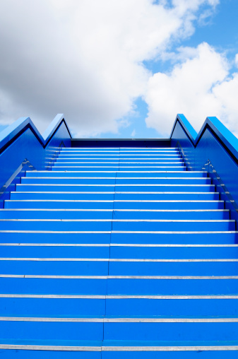 Freedom「Staircase to Success Blue Sky, Berlin.」:スマホ壁紙(14)