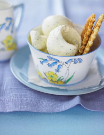 Lemon Ice Cream「Lemon Poppy Seed Gelato with Cookie」:スマホ壁紙(7)