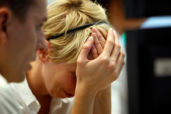 Sadness「Frankfurt Stock Exchange Reacts On Financial Crisis」:写真・画像(1)[壁紙.com]