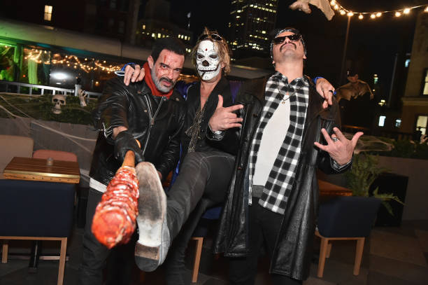 Jamie McCarthy「Heidi Klum's 18th Annual Halloween Party presented by Party City and SVEDKA Vodka at Magic Hour Rooftop Bar & Lounge at Moxy Times Square - Inside」:写真・画像(16)[壁紙.com]