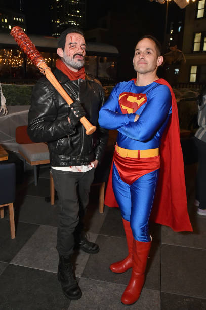 Jamie McCarthy「Heidi Klum's 18th Annual Halloween Party presented by Party City and SVEDKA Vodka at Magic Hour Rooftop Bar & Lounge at Moxy Times Square - Inside」:写真・画像(12)[壁紙.com]