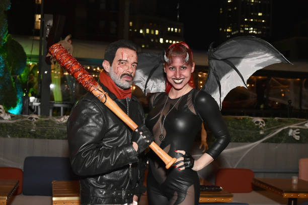 Jamie McCarthy「Heidi Klum's 18th Annual Halloween Party presented by Party City and SVEDKA Vodka at Magic Hour Rooftop Bar & Lounge at Moxy Times Square - Inside」:写真・画像(11)[壁紙.com]