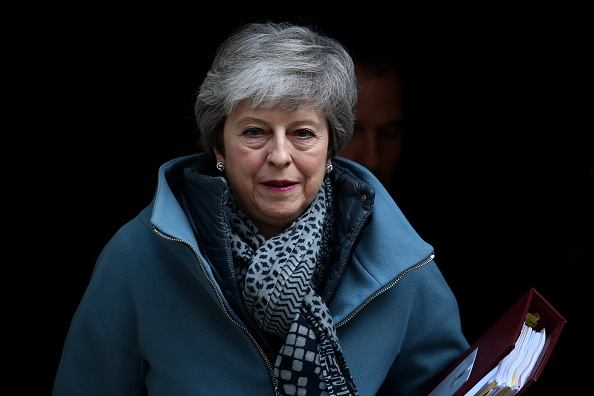 Prime Minister「Prime Minister Theresa May Leaves For PMQ's」:写真・画像(9)[壁紙.com]