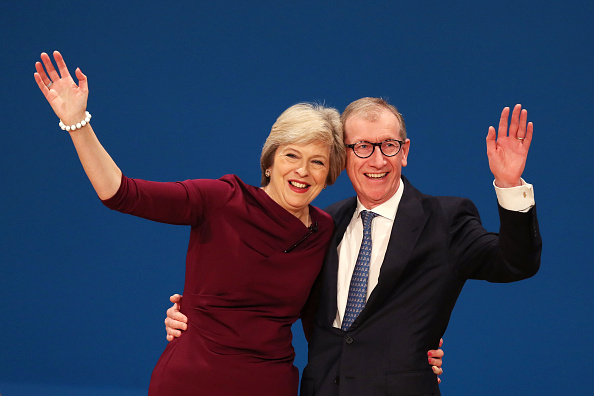 Politician「Conservative Leader Theresa May Addresses Party Conference」:写真・画像(3)[壁紙.com]