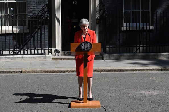 10 Downing Street「British Prime Minister Announces The  Details Of Her Resignation」:写真・画像(19)[壁紙.com]