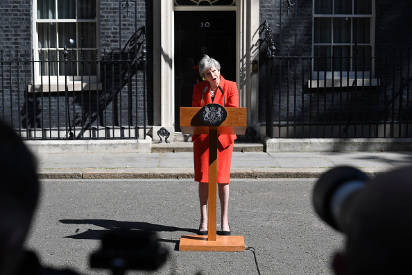 Leon Neal「British Prime Minister Announces The  Details Of Her Resignation」:写真・画像(7)[壁紙.com]